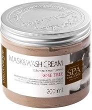 Kup Myjąca maska na bazie glinek Drzewko różane - Organique Mask&Wash Cream Rose Tree