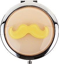 Kup Okrągłe lusterko kompaktowe #85697 (beżowe) - Top Choice