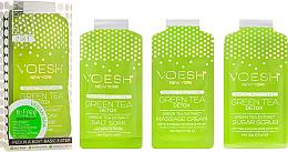 Kup PRZECENA! Zestaw do pedicure Zielona herbata - Voesh Pedi In A Box 3 In 1 Deluxe Pedicure Green Tea *