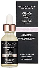 Kup Delikatne serum-peeling do twarzy - Makeup Revolution Quinoa Night Peel