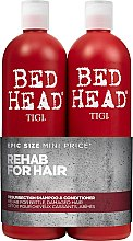 Kup Zestaw - Tigi Bed Head Resurrection Shampoo&Conditioner (sh/750ml + cond/750ml)