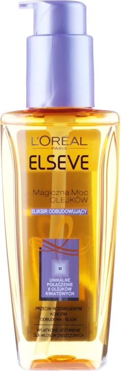 Eliksir odbudowujący Magiczna moc olejków - L'Oreal Paris Elseve Oil