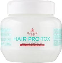 Kup Maska do włosów Keratyna, kolagen i kwas hialuronowy - Kallos Cosmetics Hair Pro-Tox