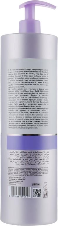 Szampon przeciw wypadaniu włosów stymulujący ich wzrost - Dikson Keiras Urban Barrier Loss Remedy Shampoo — фото N2