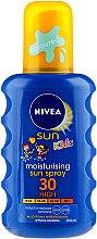 Kup Nawilżający spray ochronny na słońce dla dzieci SPF 30 - Nivea Sun Kids Protect And Play Spray