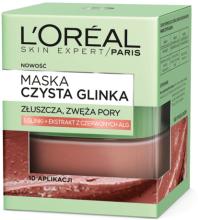 Kup Złuszczająco-wygładzająca maska do twarzy Czysta glinka - L'Oreal Paris Skin Expert Pure Clay Mask