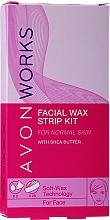 Kup Plastry z woskiem do depilacji twarzy - Avon Works For Face & Brown