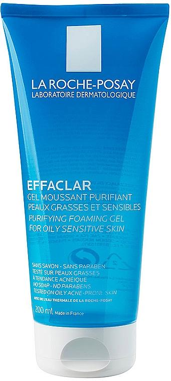 Oczyszczający żel do skóry tłustej i wrażliwej - La Roche-Posay Effaclar Gel Moussant Purifiant — фото N3