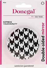 Kup Podwójne lusterko kieszonkowe 4502, czarno-białe - Donegal Mirror