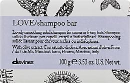 Kup Wygładzający szampon w kostce do włosów szorstkich - Davines Essential Haircare Love Smooth Shampoo Bar
