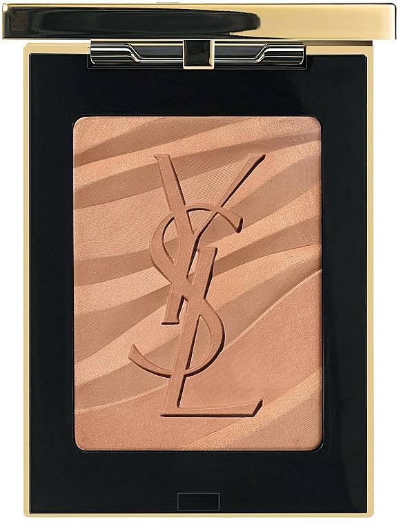 Bronzer w kompakcie - Yves Saint Laurent Les Sahariennes Bronzing Stones — фото N1