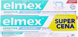 Kup Zestaw - Elmex Sensitive Whitening Toothpaste (toothpaste/2x75ml)