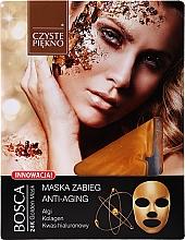 Kup Maseczka-zabieg do twarzy Anti-Aging - Czyste Piekno Bosca Anti-Aging 24K Golden Mask