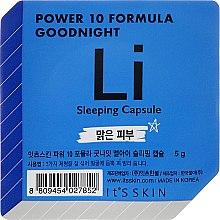 Kup Kapsułki do twarzy na noc - It's Skin Power 10 Formula Goodnight Li Sleeping Capsule