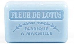 Kup Marsylskie mydło w kostce Kwiat lotosu - Foufour Savonnette Marseillaise Fleur De Lotus