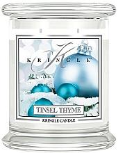 Kup Świeca zapachowa w słoiku - Kringle Candle Tinsel Thyme