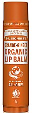 Kup Balsam do ust Pomarańcza i imbir - Dr. Bronner's Orange & Ginger Lip Balm