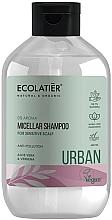 Kup Szampon micelarny do wrażliwej skóry głowy Aloes i werbena - Ecolatier Urban Micellar Shampoo