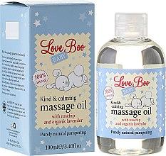 Kup Kojący olejek do masażu dla dzieci - Love Boo Baby Kind & Calming Massage Oil
