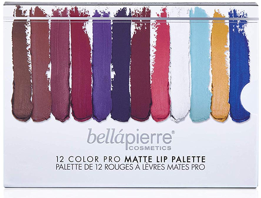 Paleta do makijażu ust - Bellapierre 12 Color Pro Matte Lip Palette — фото N2