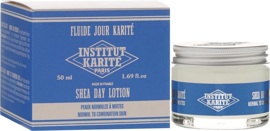 Balsam do twarzy na dzień z masłem shea do skóry normalnej i mieszanej - Institut Karité Shea Day Lotion — фото N1
