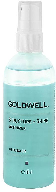 Nabłyszczający spray ułatwiający rozczesywanie włosów - Goldwell Structure + Shine Optimizer  — фото N1