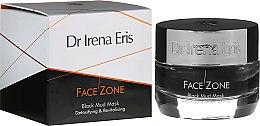 Detoksykująco-rewitalizująca czarna błotna maska do twarzy - Dr Irena Eris Face Zone Black Mud Mask Detoxifying & Revitalising — фото N1