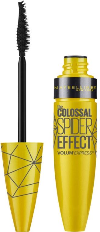 Pogrubiający tusz do rzęs - Maybelline The Colossal Volum Express Spider Effect Mascara