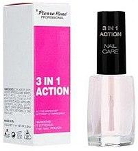 Kup Wielofunkcyjny preparat z aktywnym utwardzaczem - Pierre Rene 3 in 1 Action Nail Care
