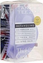 Kup Szczotka do gęstych i kręconych włosów, fioletowa - Tangle Teezer Detangling Thick & Curly Lilac Fondant