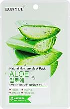 Kup Nawilżająca maska do twarzy na tkaninie z aloesem - Eunyul Natural Moisture Mask Pack Aloe