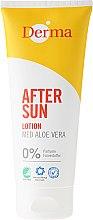 Kup Balsam po opalaniu z wyciągiem z aloesu - Derma After Sun Lotion Med Aloe Vera