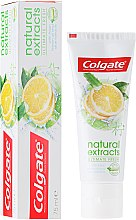Kup Odświeżająca pasta do zębów - Colgate Natural Extracts Ultimate Fresh Lemon