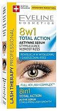 Kup Aktywne serum stymulujące wzrost rzęs - Eveline Cosmetics Eyelash Serum Total Action 8in1