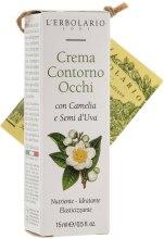 Kup Krem do konturu oka Kamelia i pestki winogron - L'Erbolario Crema Contorno Occhi