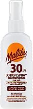 Kup Przeciwłoneczne mleczko w sprayu do ciała - Malibu Sun Lotion Spray High Protection Water Resistant SPF 30