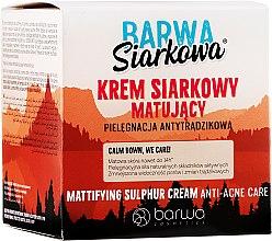 Kup Matujący antybakteryjny krem siarkowy - Barwa Siarkowa