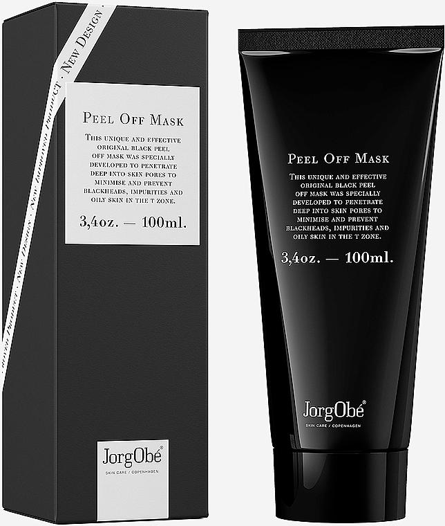 Czarna maska złuszczająca do twarzy - Jorgobe The Original Black Peel Off Mask — фото N1