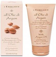 Kup Masujący krem oczyszczający do twarzy Olej arganowy - L'Erbolario Crema detergente da Massaggio per il Viso Con Estratto di Foglie di Argan