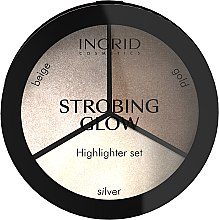 Kup Paletka do strobingu - Ingrid Cosmetics Strobing Glow Highlighter Palette