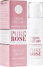 Kup Nawilżający krem do twarzy - Erbario Toscano Biocomplex Pure Rose 24H Face Cream