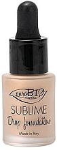 Kup Podkład w płynie z pipetą - PuroBio Cosmetics Sublime Drop Foundation