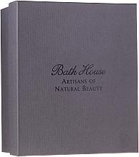 Kup Bath House Spanish Fig and Nutmeg - Zestaw (sh/gel/160ml +soap/150g + deo/50ml + towel/1pcs + brush/1pcs)