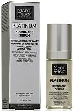 Kup PRZECENA! Ujędrniające serum do twarzy - MartiDerm Platinum Krono-Age Serum *