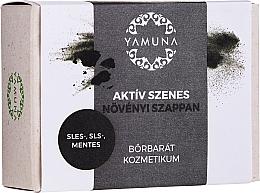 Kup Mydło z węglem aktywnym - Yamuna Activated Carbon Vegetable Soap