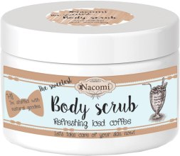 Kup Naturalny peeling cukrowy do ciała Odświeżająca mrożona kawa - Nacomi Body Scrub