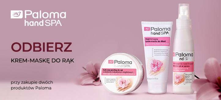 Kup dwa produkty Paloma, a regenerujący krem-maskę do rąk otrzymasz w prezencie.