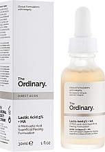 Kup Serum peelingujące z kwasem mlekowym 5% + HA 2% - The Ordinary Lactic Acid 5% + HA 2%