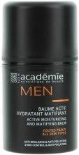 Kup Aktywny balsam nawilżająco-matujący - Académie Men Active Moist & Matifying Balm