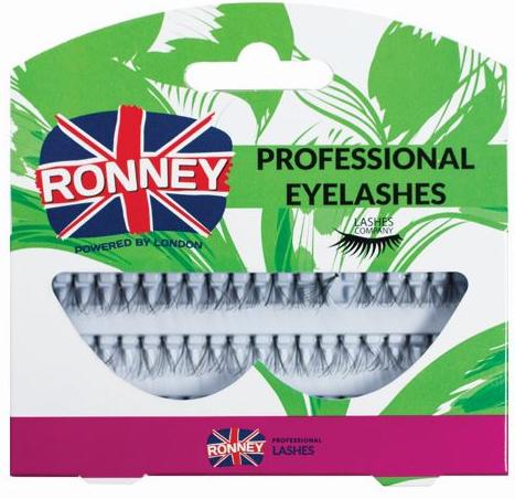 Kępki sztucznych rzęs z węzełkiem - Ronney Professional Eyelashes RL 00031